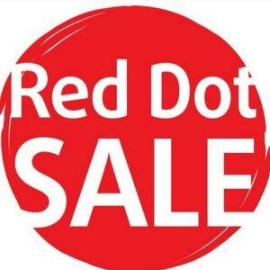 🔴 4 for $25 RED DOT SALE
